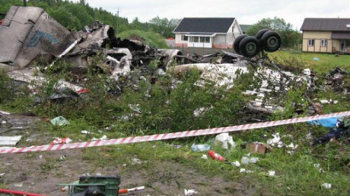 Air crash in north-west Russia claims 44 lives