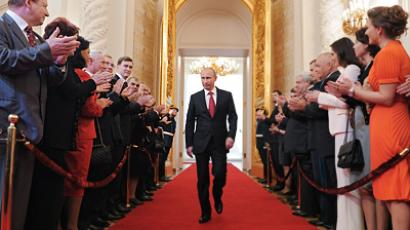 Putin sworn in as Russia's new president (PHOTOS, VIDEO)