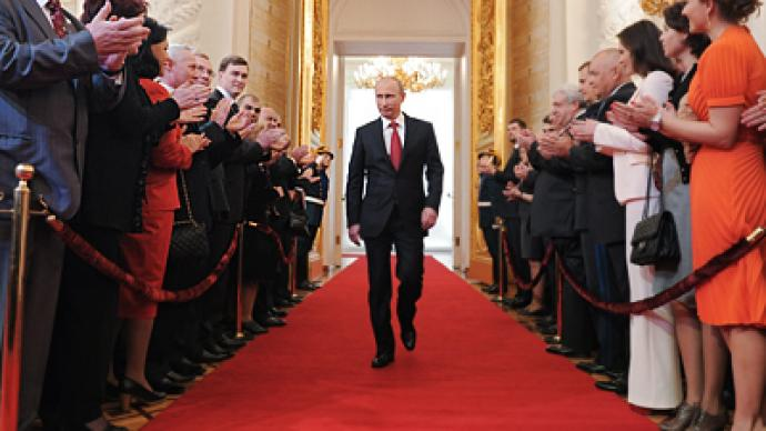Caviar and salute: Russia's inauguration splendor