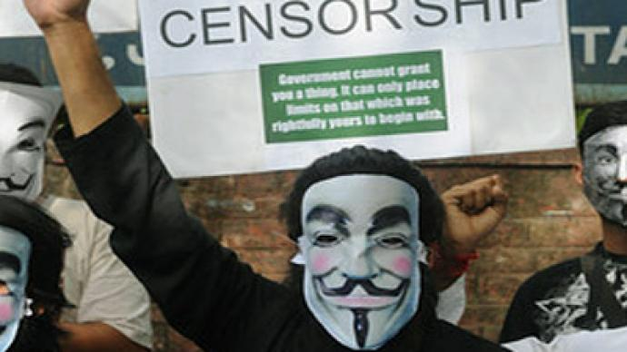 #Anonymous hacks India IT minister's webpage in wake of Facebook arrests