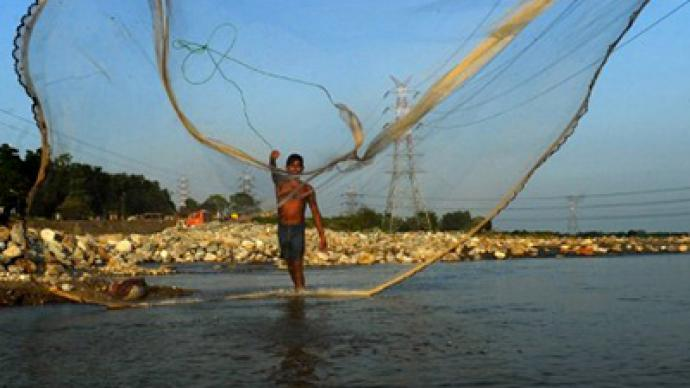 Mobile fishing in India