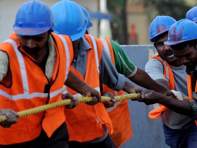 India's temp market: Scam to bypass labor laws?