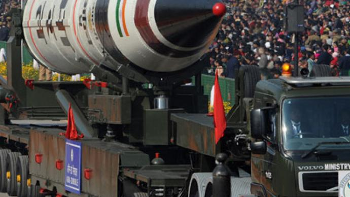 India parades brand-new intercontinental ballistic missile