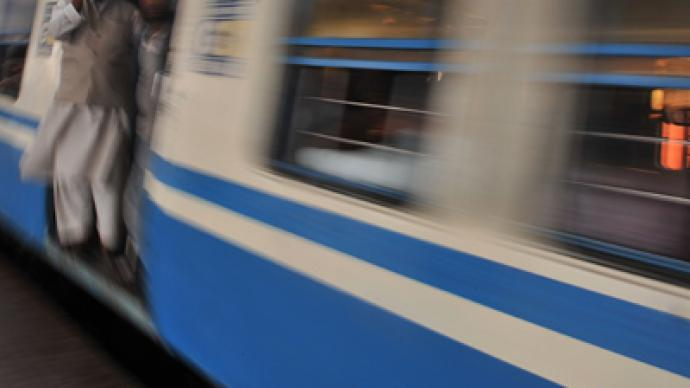 Indian woman jumps from train to escape rape