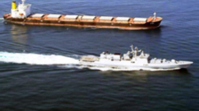 Indian warship sinks Somalia pirate vessel