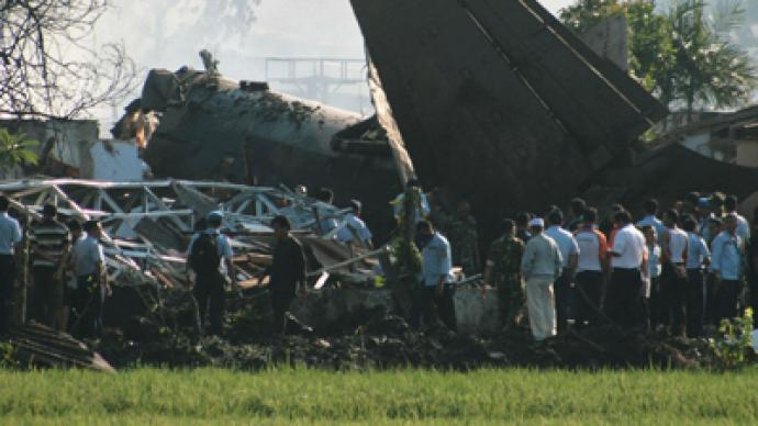 Plane crashes in Indonesia's Jakarta - 6 dead