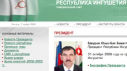 Troubled Ingushetia sees president quit