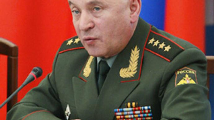 Russian military chief says Iran bombing inadmissible
