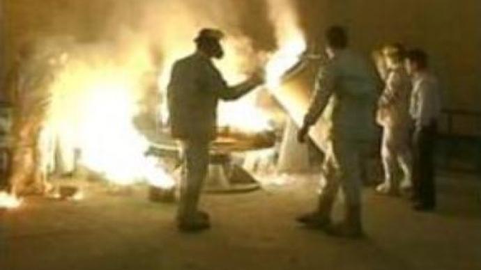 Iran denies boosting uranium enrichment programme
