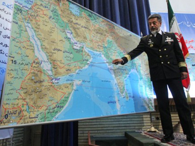 Naval thrills: Iran flexes muscles at world's key oil transit channel