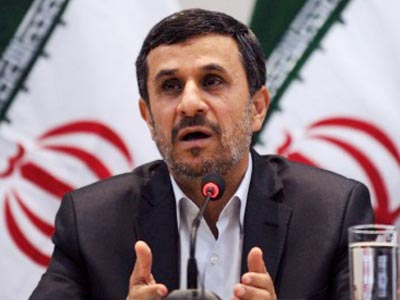 Ahmadinejad talks peace & justice as US boycotts address