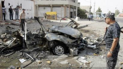 Deadly blasts engulf Iraq, with string of bombs killing at least 100