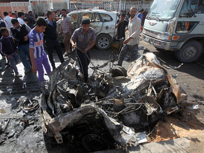 23 dead, 130 wounded in Iraq after 5 Shiite mosques rocked by bombs (PHOTOS)