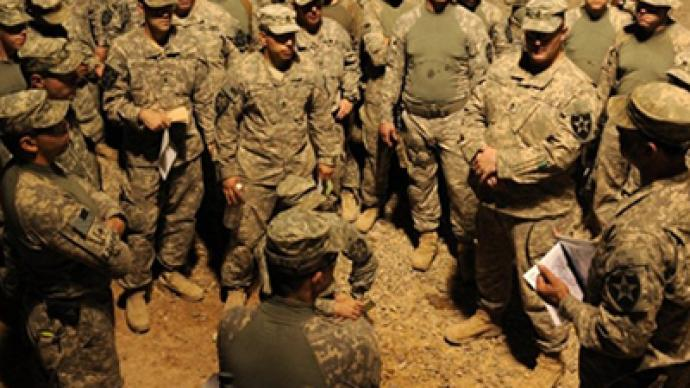 Troops show no pleasure with move to Afghanistan