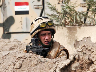 American casualties in Iraq surge