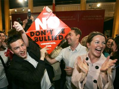 Ireland blocks further EU integration