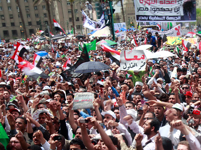 'Egypt is on a collision course'