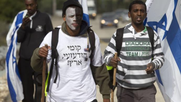 Tent camp or deportation: Choice for African migrants in Israel
