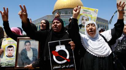 Palestinian hunger striker released, exiled to Gaza