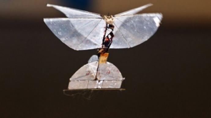 Spy Butterfly Israel Developing Insect Drone For Indoor Surveillance