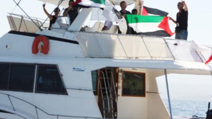Israel blocks last Gaza flotilla vessel