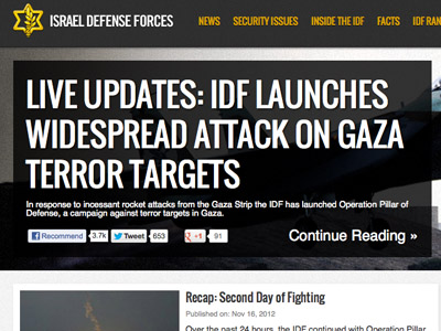 Twitter Warfare: How Israel and Hamas wage war online