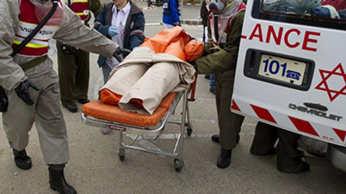 Israeli military preparing hospitals for chemical attacks – report