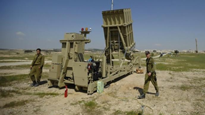Israel deploys iron defense dome amid violence escalation