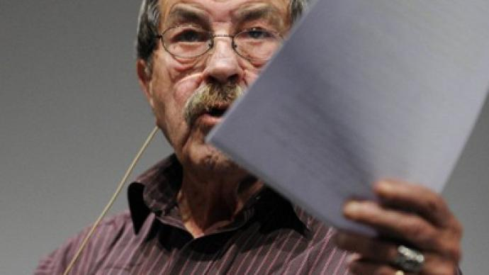 Grass stained: Israel slams Nobel Prize-winner over 'anti-nuke' poem