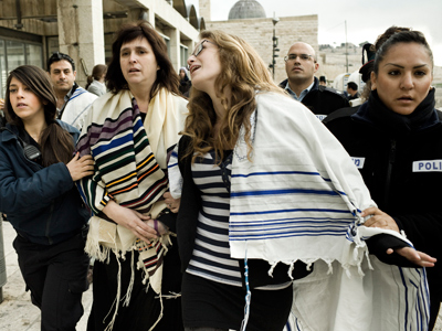 Shawl male rule: Israeli police detain ten women over 'improper attire' at holy site