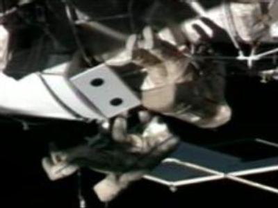 ISS armes with meteorite shield