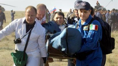 ISS crew back on Earth after busy space mission