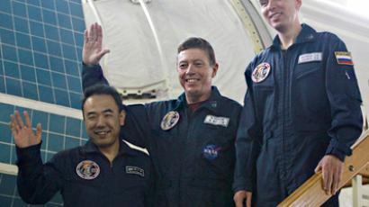 ISS crew revives space matryoshka