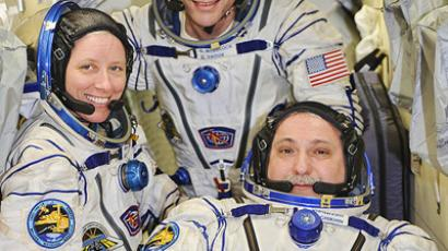 ISS crew of three shares emotions about 163 days in orbit