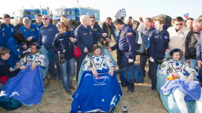 Soyuz touchdown: ISS Expedition 33 back home without a hitch