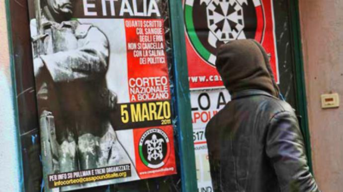 Italian far right get boost amidst country's economic troubles