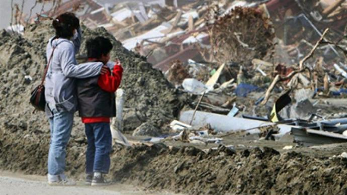 Another strong quake rocks Japan