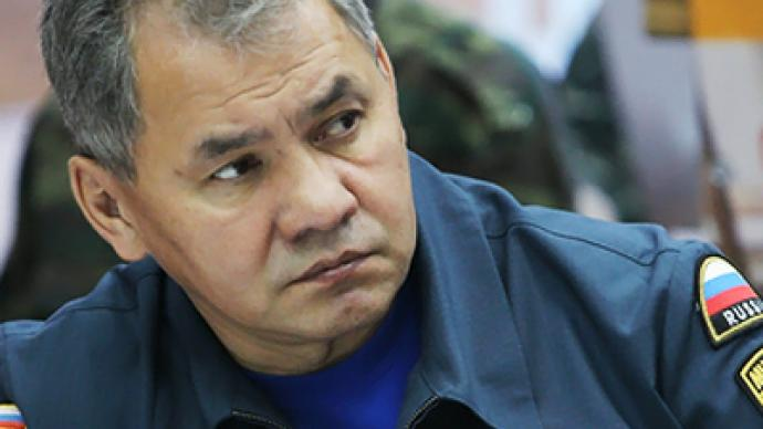 First case I remember of natural disaster leading to such man-made catastrophe - Shoigu