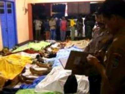 Java tsunami kills more than 260