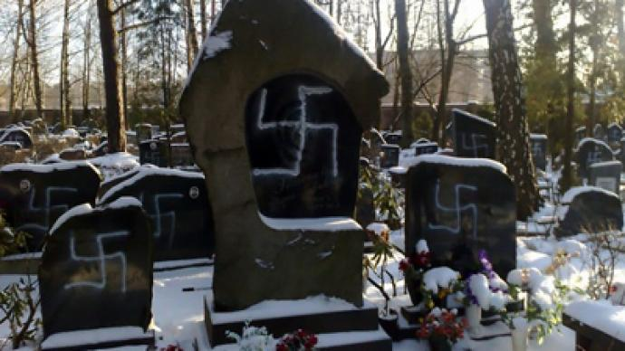 Jewish cemetery desecrated in Latvia