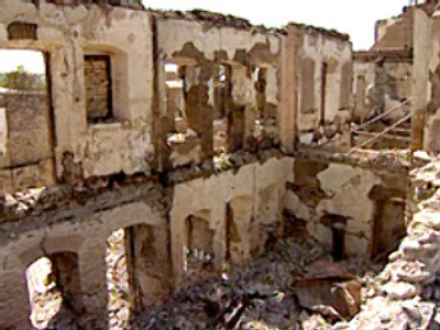Jewish Quarter targeted in Georgian offensive