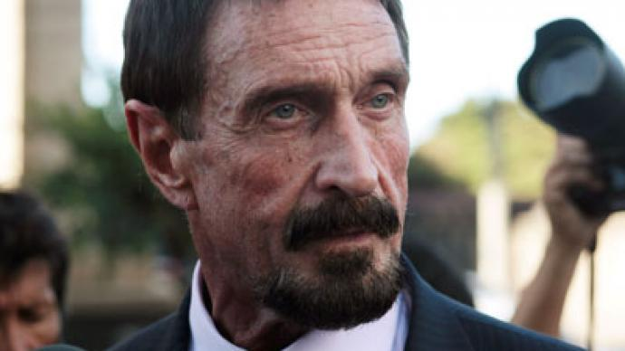 Fugitive anti-virus magnate John McAfee arrested in Guatemala