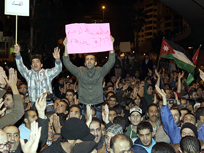 Thousands call for boycott of 'cosmetic' Jordan elections (PHOTOS)