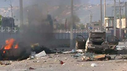 Suicide bomb attack on Afghan NATO base: 7 killed, 13 injured