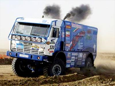 KAMAZ grab Dakar 2010 lead