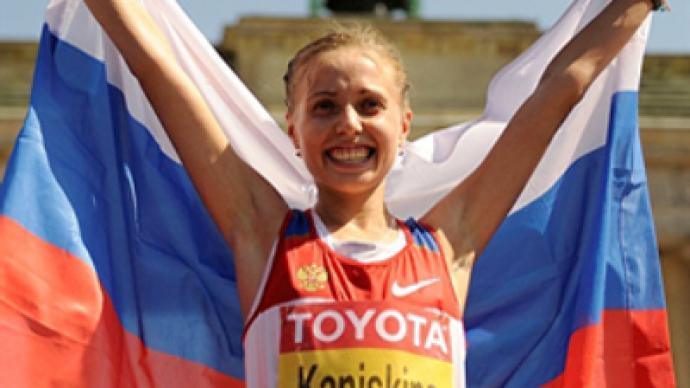 Russian walkers storm podium at athletics Euros