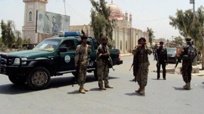 Four killed in blast during Karzai's memorial service in Afghanistan