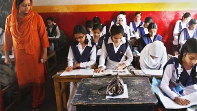 Kashmiri students made to make up school days lost in demonstrations
