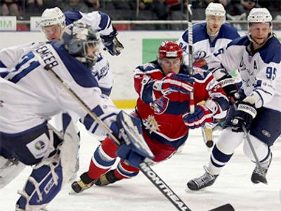 KHL: Dynamo first to book place in semi-finals
