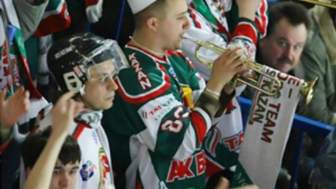 KHL finals: overtime battle ties series
